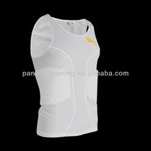 Men's Sleeveless basketball protective vest white