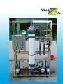 mini de residuos de tratamiento de agua de la planta