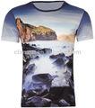 Homens 3d t- shirt, punk três d camiseta manga curta, tamanho plus frete grátis, xxxl, zero de camisas, atacado rock band t- camisas, xl