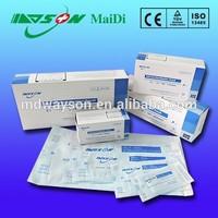 Self-sealing sterilization pouch/bag for hopital