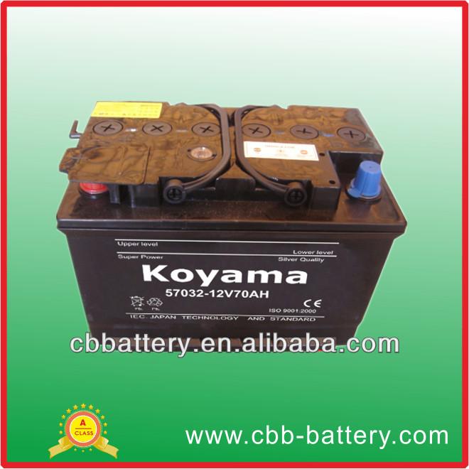 57032 dry battery in Pakistan 12v70ah