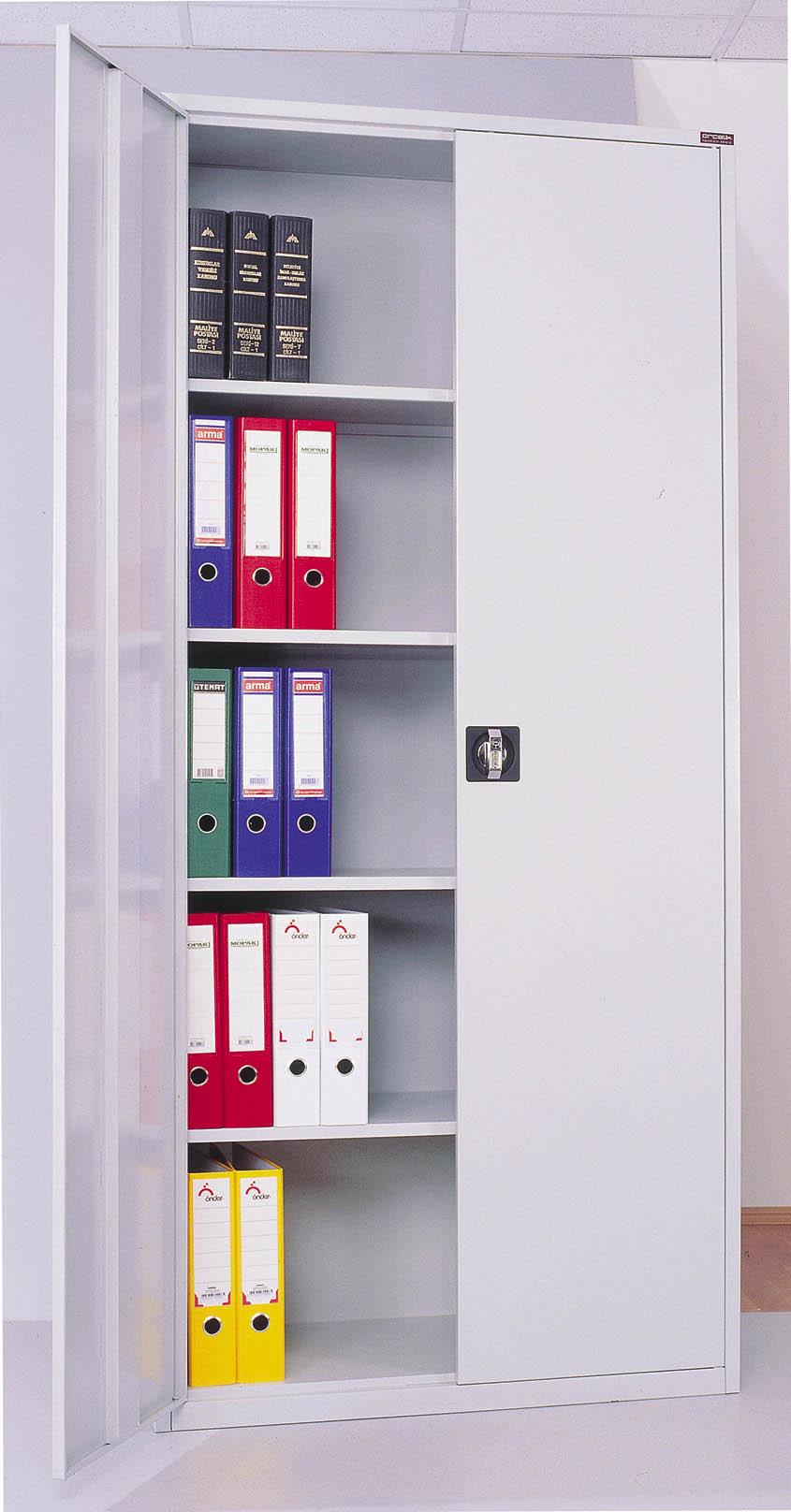 Muebles de oficina, Archivadores-demás muebles de metal-Identificación del pr...