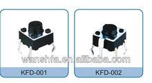 6*6 tact switch KFD-001 KFD-002