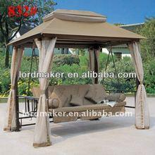 2013 Outdoor Rattan Hammock pe water resistant fabric for outdoor furniture