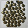 convex metal copper studs;hot fix stud for cloth decoration