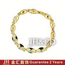 JH hong kong jewelry wholesale gold bracelet