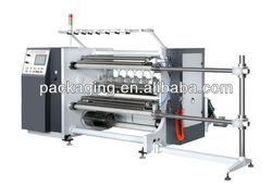 BTM-E1300 Economic plc automatic tension controlled high speed slitting machine