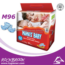 100% soft pampas baby diaper from guangzhou china