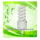 mini 15w E27 base 100% Tri-phosphor Full Spiral Energy Saving Lamp