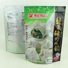 high quality food packaging bags for frozen dumplings