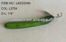 "2014Artificial Fake Vegetables 1*9"" Artificial Polyfoam Cucumber House Decoration"