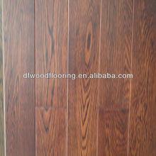 Red Wire-Brushed Oak Multilayer Engineered Wood Flooring
