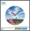 reloj de cristal templado para la impresión de sublimación