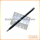 Small stylus touch pen with conductive fabric