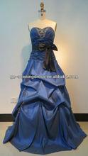 Beaded Taffeta Long Ball Gown USA Dress