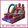 new 3D design inflatable big slides for sale,inflated big slides for sale