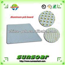 High quantity aluminum PCB prototype White aluminum PCB prototype White Alu