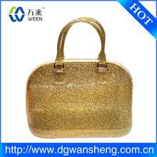 women's bag/pvc hand bag/the same style hand bag like superstar