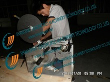 Most Popular of paper tube labeling machine