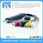 Easycap USB 2.0 TV DVD VHS Video Audio AV Capture adapter Cable