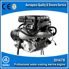 4 stroke,1100cc Professional Water-cooling Marine Engine with CE