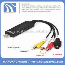 Mini Easycap USB 2.0 Video TV DVD Audio Grabber Adapter