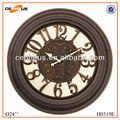 24 pollici antico grande orologio da parete per la decorazione