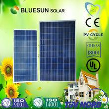 Bluesun caliente de la venta 160 w solar fotocélula