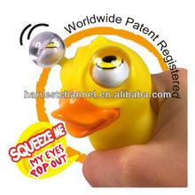 yellow AB-045 promotion eyes for toys plastic, big eyed animal toys, safety eyes for toys