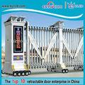las barreras de aluminio retráctil puertas de garaje para granja