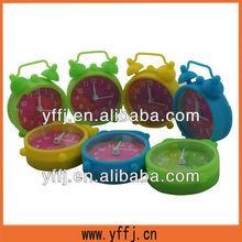 wholesale silicone mini clock with alarm