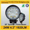 "high quality 12v led truck work lights 4"" 10-30v 24w Led work light"