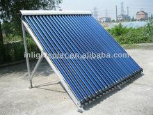 Keymark certified evacuated tube solar pool collector