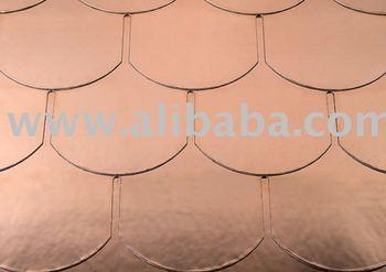 Biber Copper asphalt shingles roofing tile