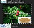 Bajo precio( clorogénico los ácidos nlt 50%) libre de la muestra de café verde de frijol en polvo extracto