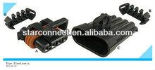 3 pole female connectors