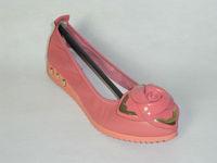 casual plat heel girl shoe