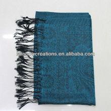 Big cashmere Tassel scarf for ladies
