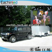 360 degree base mobile truck led display