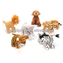 2013 new design zoo animal stuffed plush kids toys safety for kids