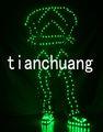 Led disfraces robot/led etapa de traje/navidad trajes de baile
