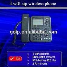 TYH best buy 4 lines sip phone wifi rj45,cordless phones