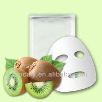 Kiwi Whitening Facial Mask China Biofibre Herbal Whitening Facail Mask Deep Cleansing Facial Mask Professional Skin Care Product