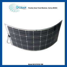 90W high efficient flexible solar panel mono solar cell good quality and light weight