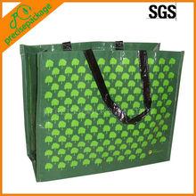 laminated reusable pp woven shopping bag(PRA-643)