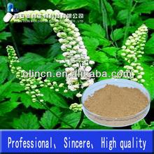 100% Pure and Natural Cimicifuga racemosa extract powder 2.5% saponin by UV