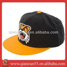 Custom Acrylic 3D Puff Logo Embroidery cotton twill Snapback Cap Hat