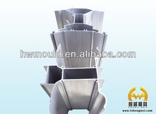 Electronic heat sink alumium supply for factory