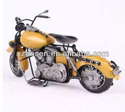 new design metal crafts antique motorcycle models