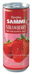 Flavous of Sammi 240ml Strawberry Juice w / Sac